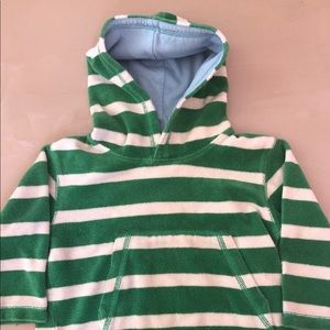 Mini Boden Terry Cloth Hoodie